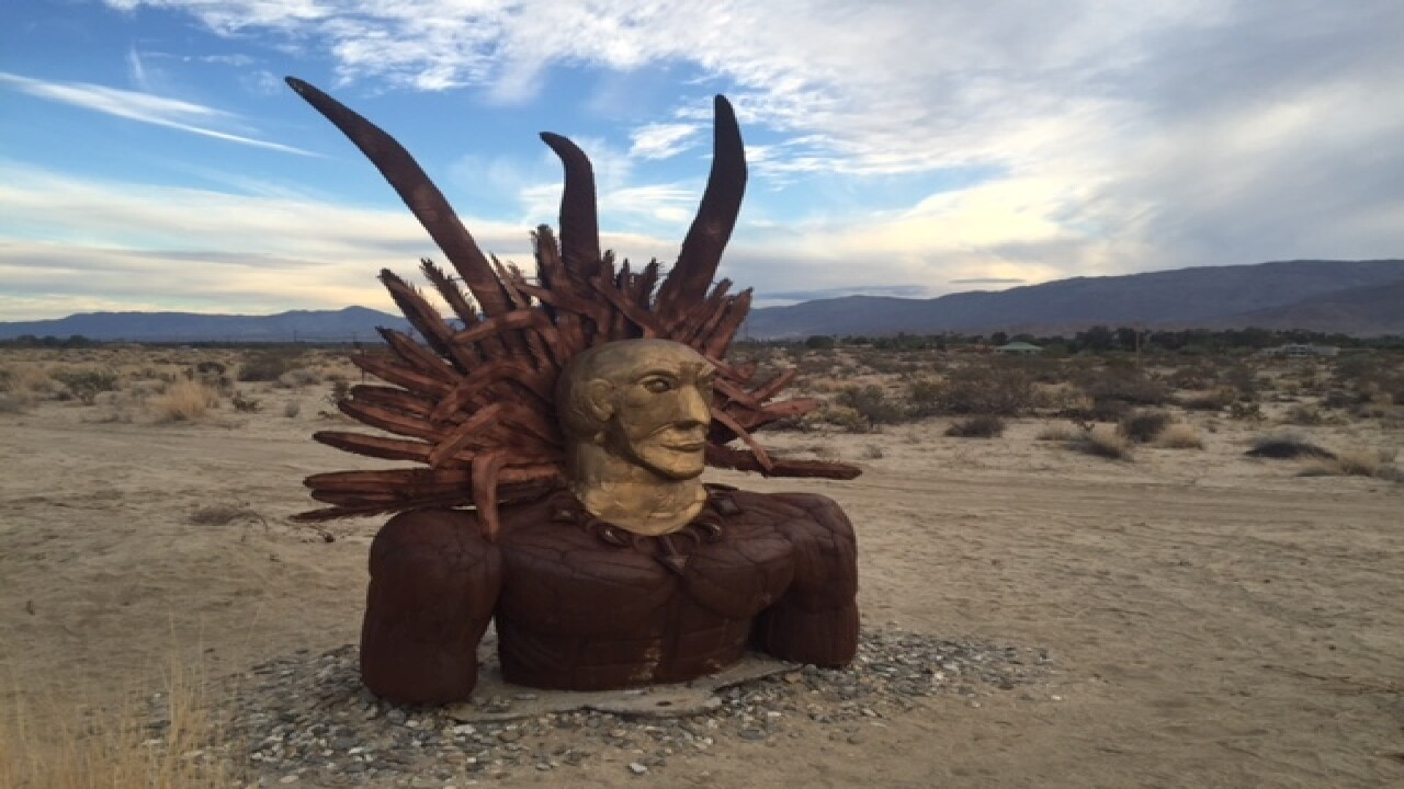 How the 'Accidental Artist' transformed Borrego