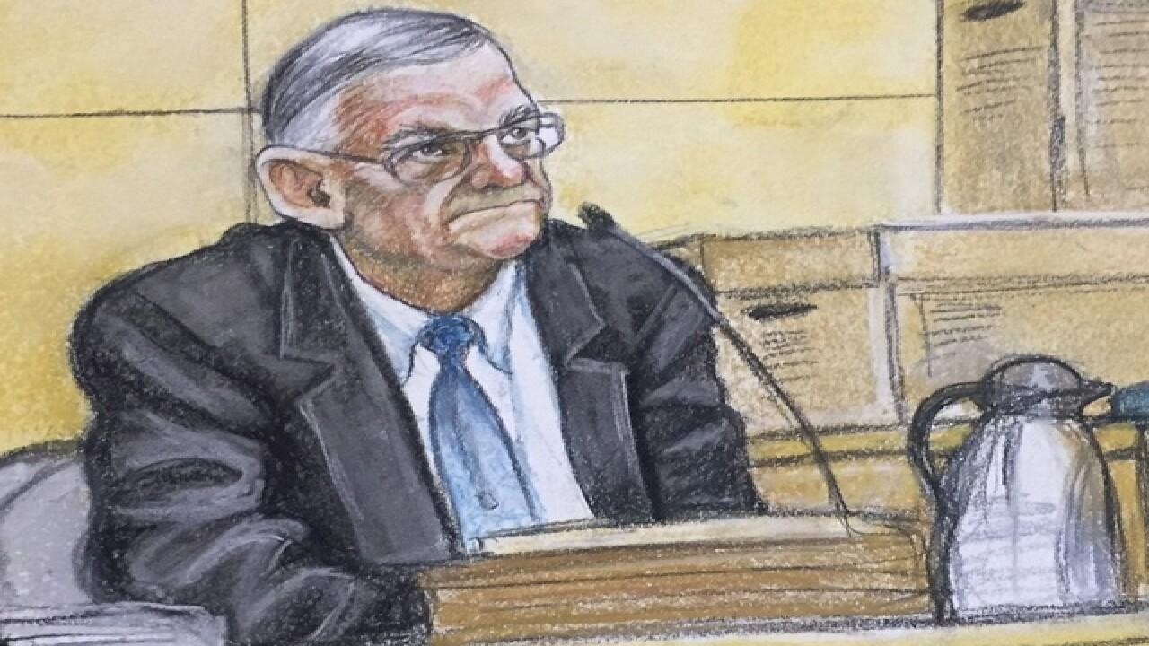 Judge rules Arpaio guilty of criminal contempt