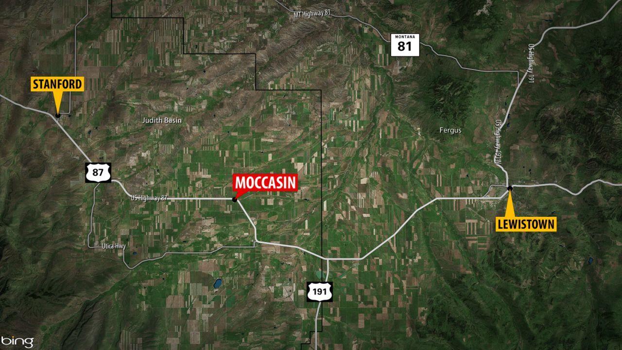 Moccasin, Montana