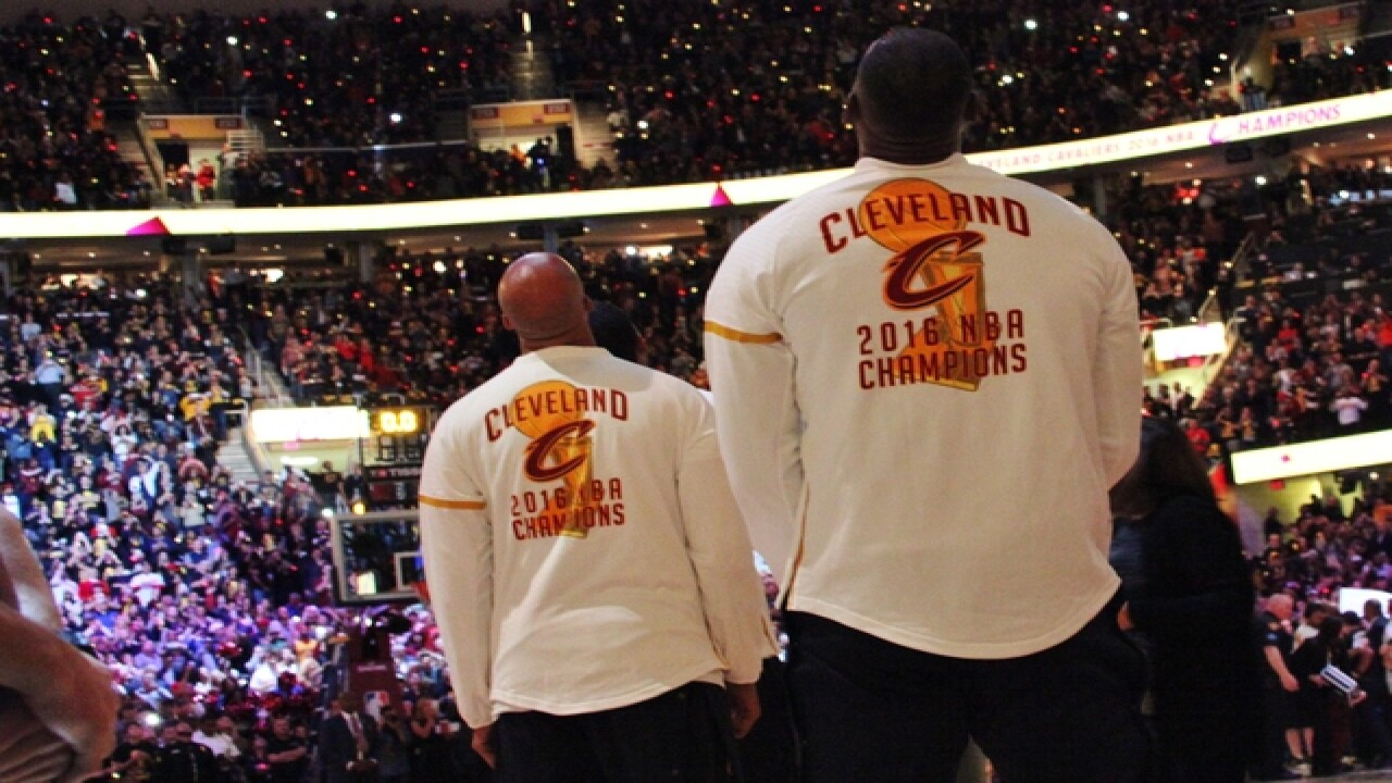 PHOTOS: Cavs Championship Ceremony