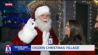 At Ogden Christmas Village, Santa weighs in on whether the GDU crew has been naughty or nice
