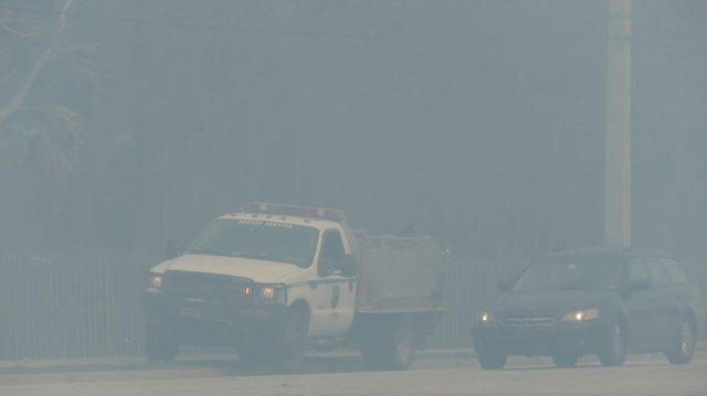 Photos: Picayune Strand fire near Naples (3/7/17)