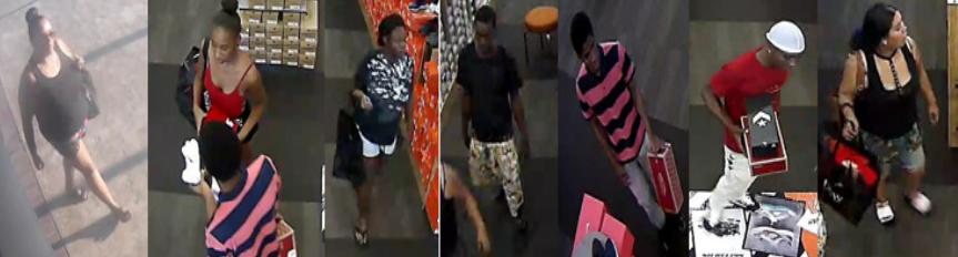 Bakersfield Police Department suspect pictures of DSW burglary