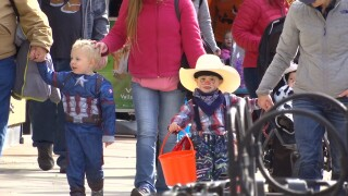 Video extra: Downtown Billings trick-or-treaters