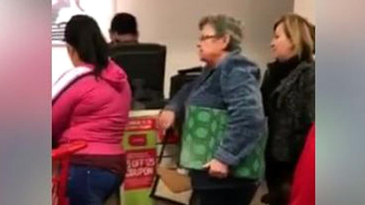 Video of woman's racist tirade in JCPenney goes viral