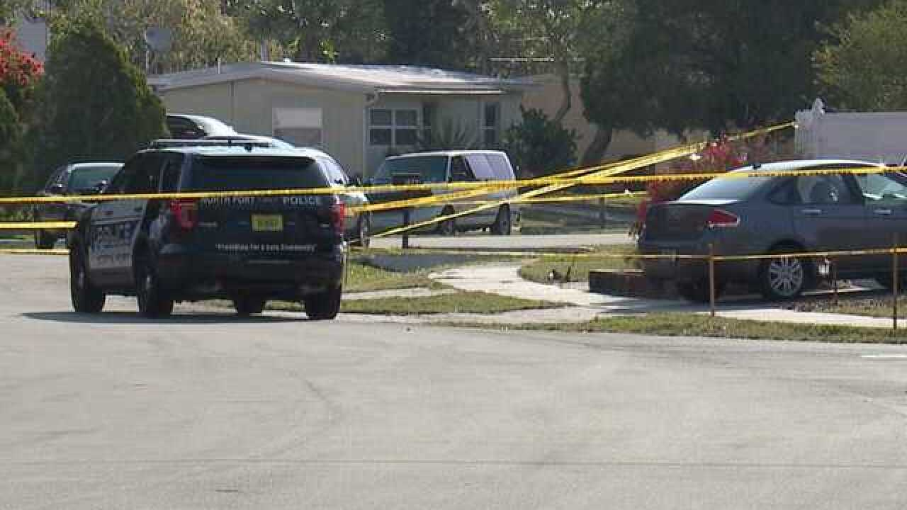Death investigation in North Port after shooting