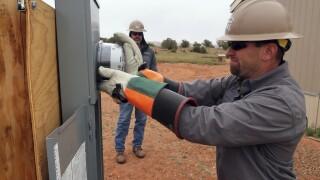 Navajo Nation Electricity AP IMAGE