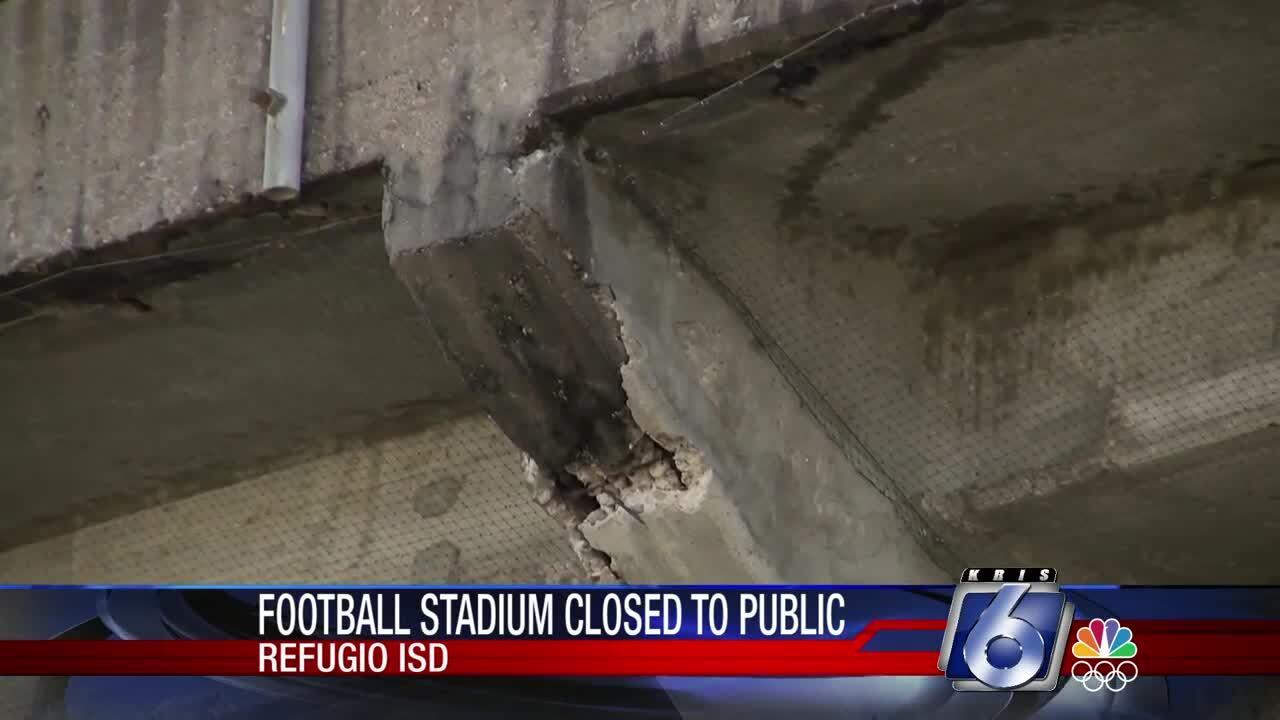 Refugio stadium closed to public until further notice