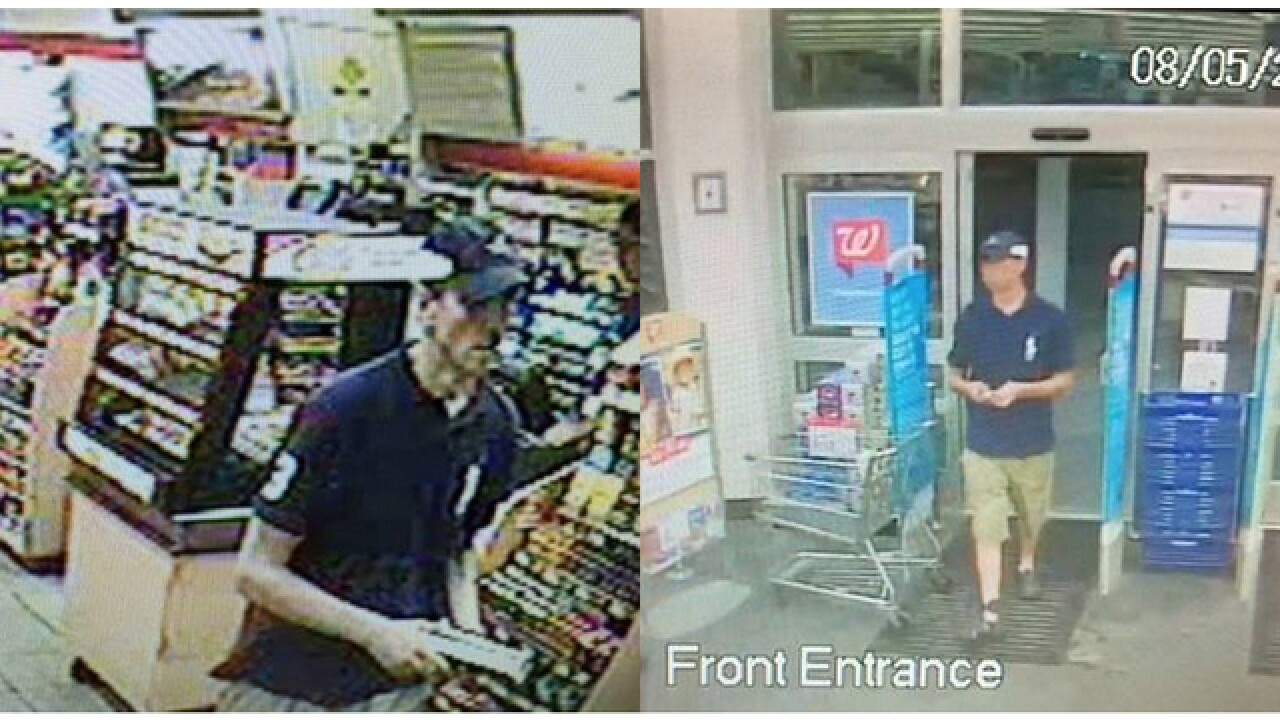 Macomb County Sheriff's Office searches for suspect in credit card theft