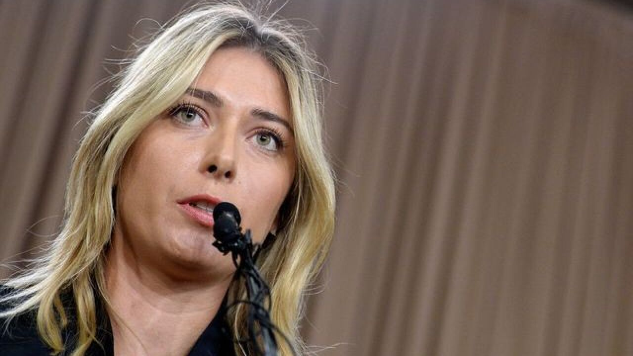 Maria Sharapova suspended for 2 years