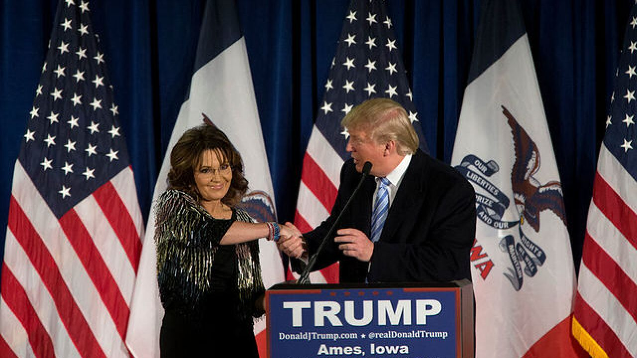 ABC News: Sarah Palin is under consideration for Secretary of Veterans Affairs position in Cabinet