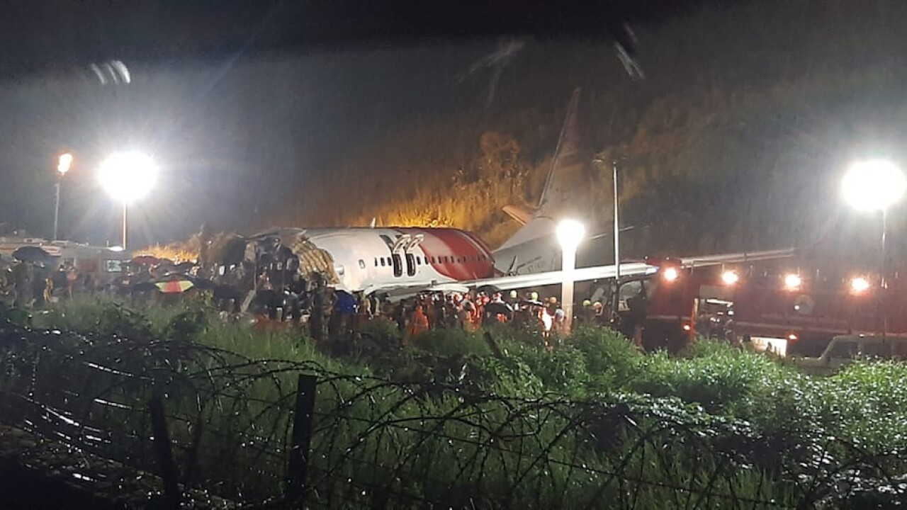 Plane skids off runway in India; 16 killed, dozens hurt
