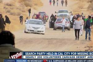 Search party held Saturday, in Cal City for missing toddlers