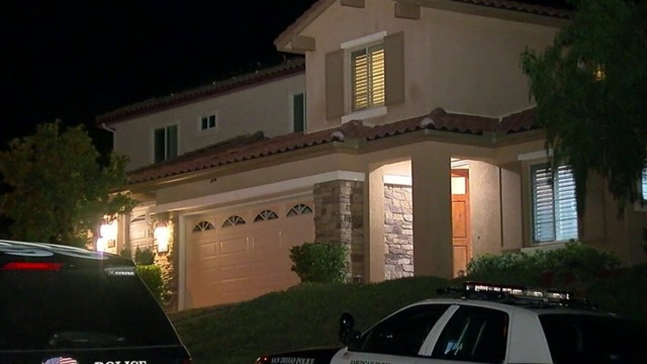 Armed home invaders tie up victims, flee