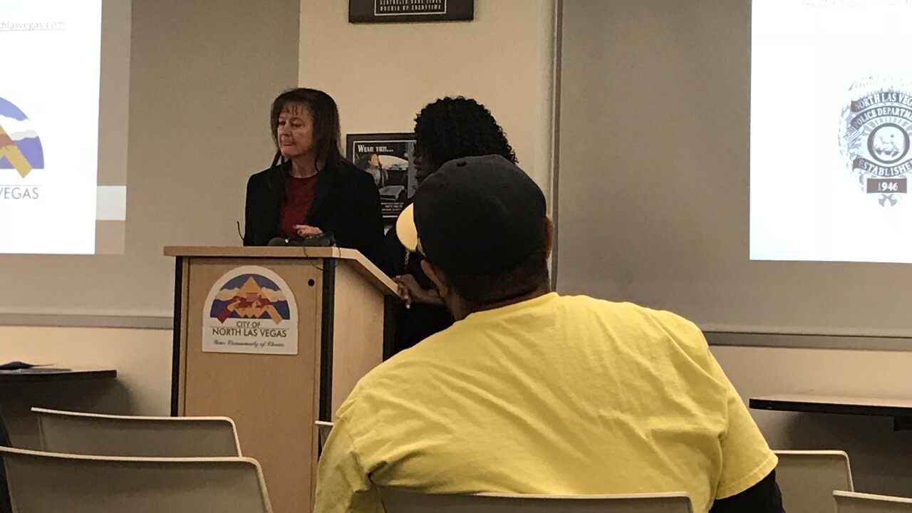 North Las Vegas police say community members are a key in stopping violence