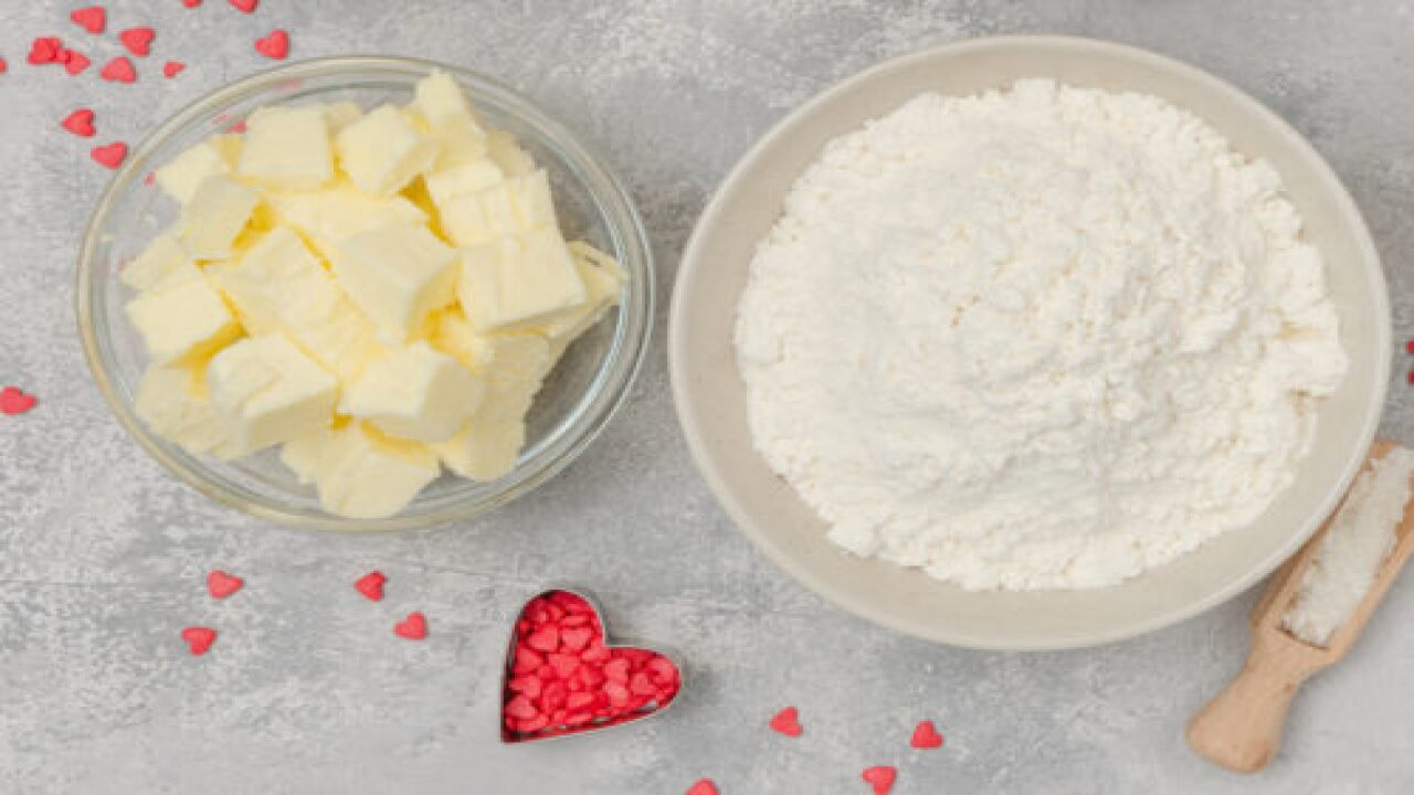 Homemade Valentine's Day Slice-and-bake Cookies Are Easier To Make Than You Think