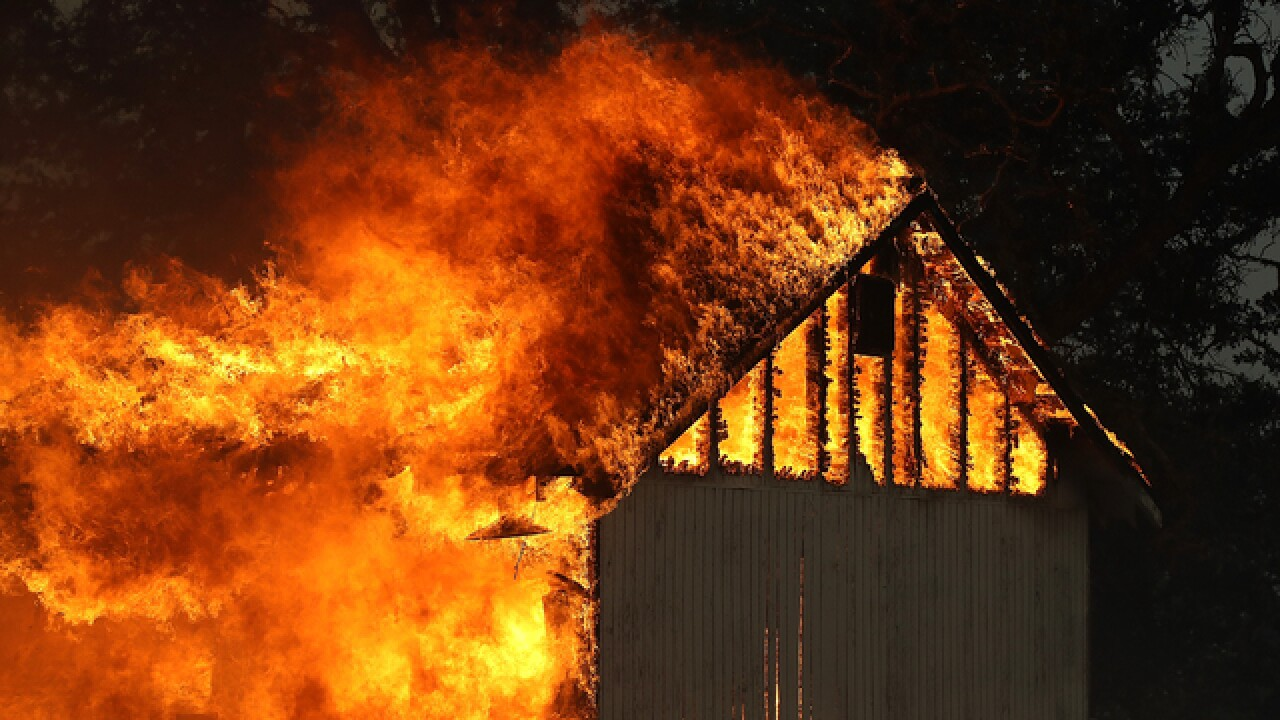 Twin California fires largest in state's history