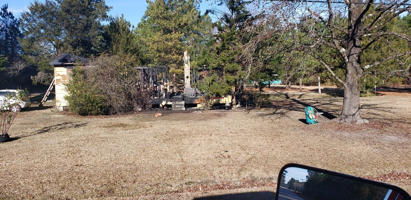 Photos: Neighbors rally behind Gates Co. family that lost home, belongings in destructive fire