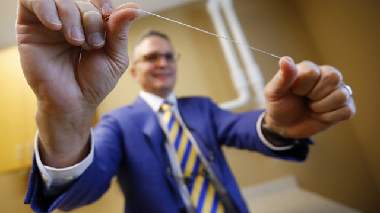 Flossing doesn't do much to prevent disease, Associated Press reports
