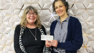 Friends of the Library give generous donation to ImagineIF