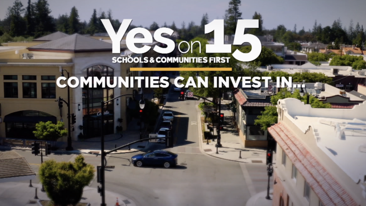 Prop. 15 - Commercial and industrial property tax change