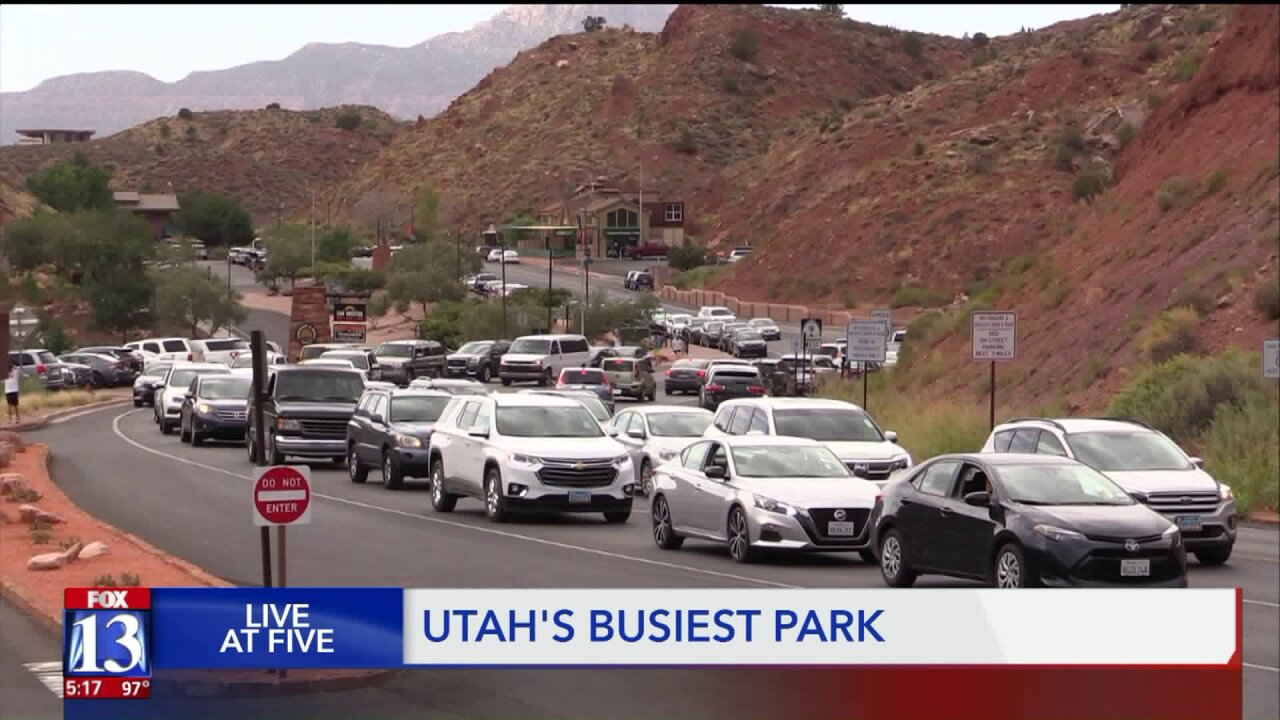 Utah's busiest park faces one of its busiest weekends