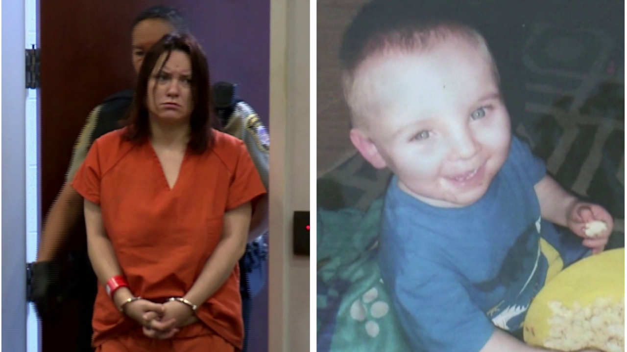 Hampton mom charged with murder in death of 2-year-old son Noah Tomlin