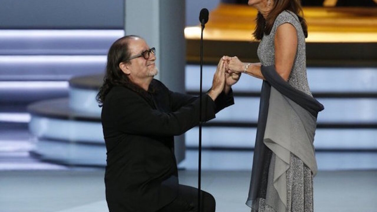 Glenn Weiss wins best Emmy moment with live proposal