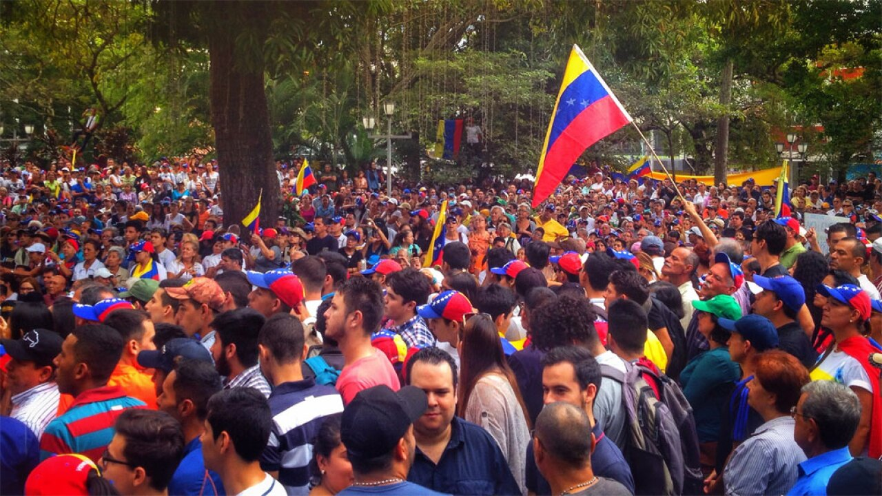 Venezuela protest - photo taken January 17, 2019