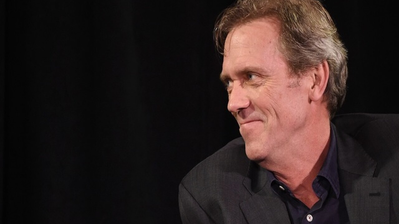 British actor Hugh Laurie celebrated in Hollywood