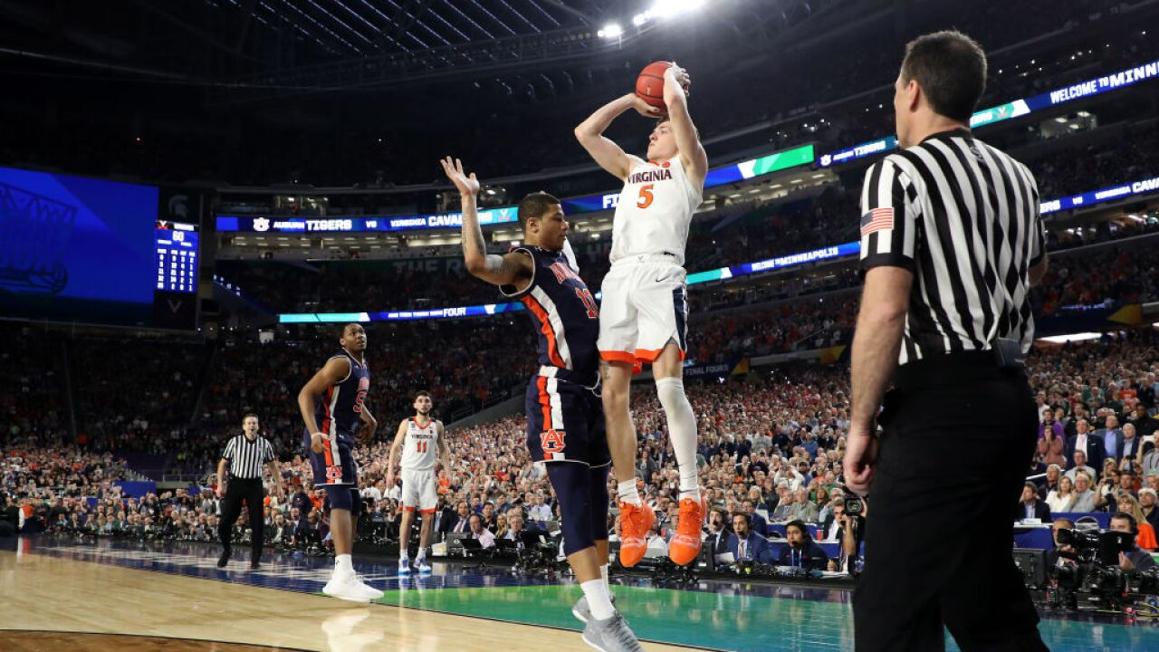 ICYMI: Watch final 5 minutes of Virginia's nail-biting Final Four win