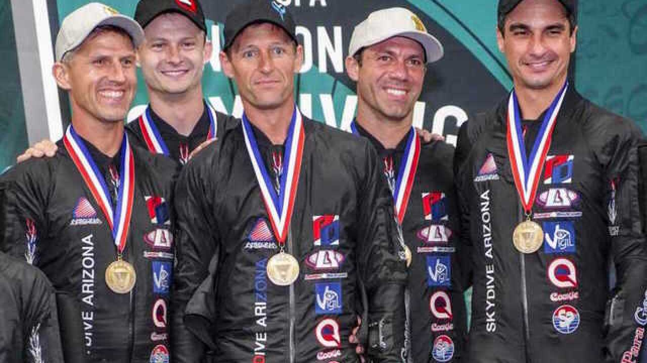 Eloy skydivers win silver in world competition