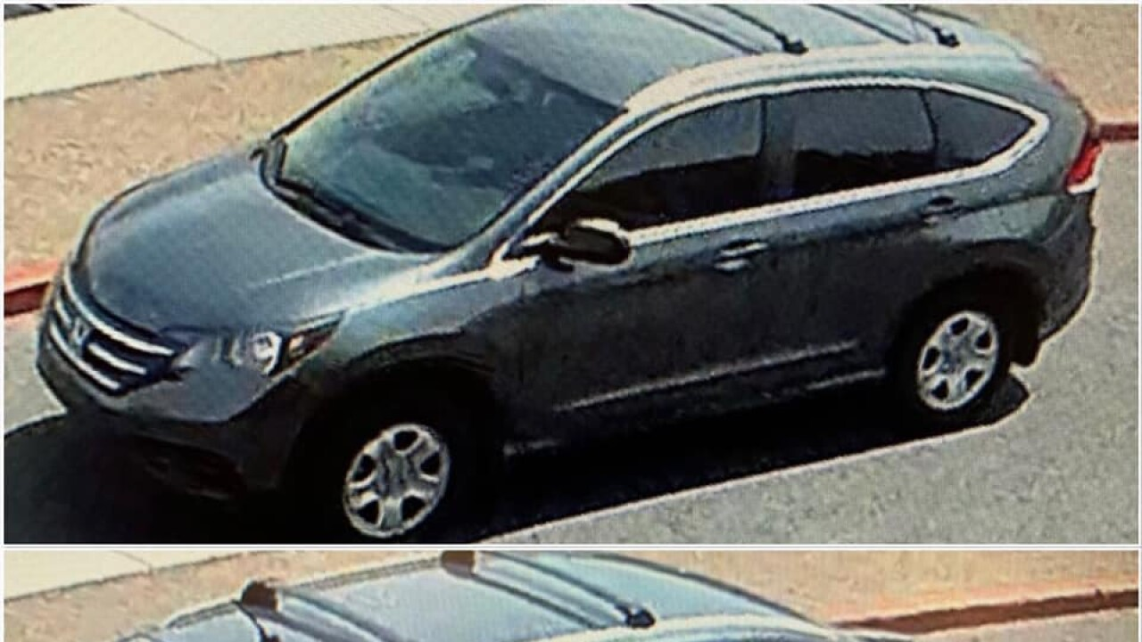 Oro Valley Police are looking for a man they say stole property from a student and the wallets of two nurses at Oro Valley Hospital.