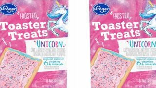 Unicorn Toaster Pastries Are Stuffed With Cake-flavored Filling