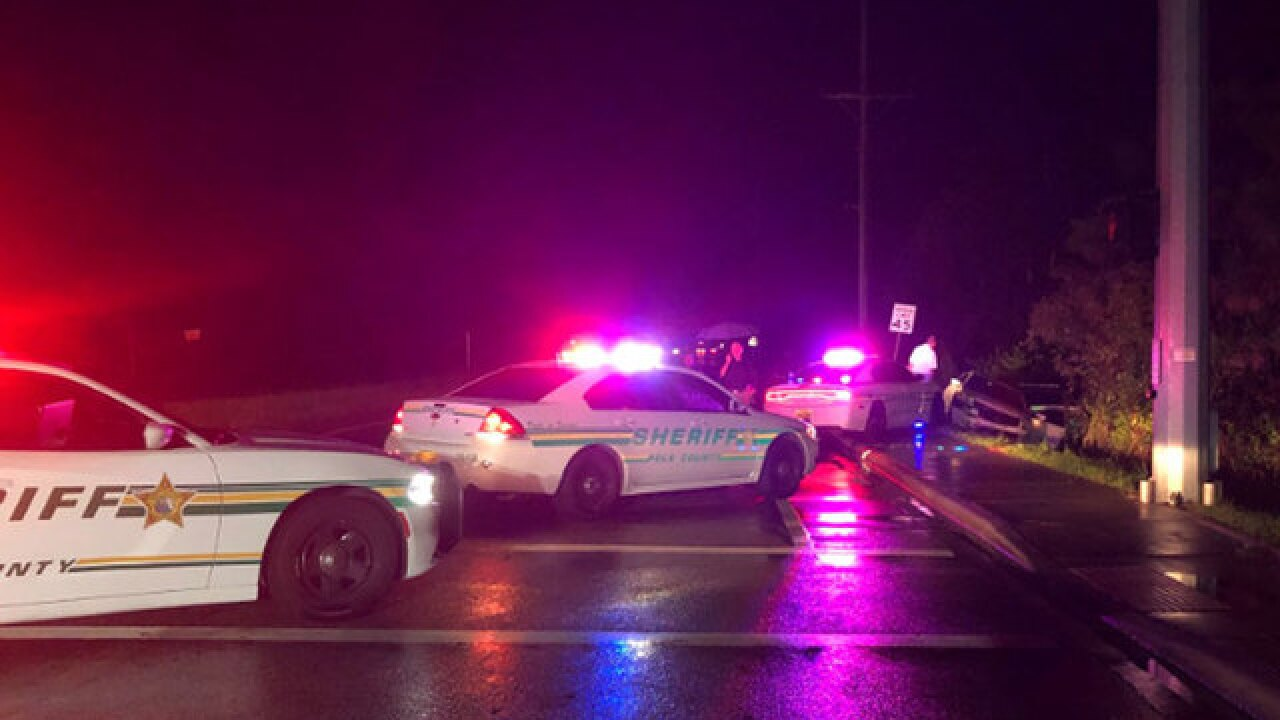 Florida man shot after hitting Polk County deputy with car, fleeing