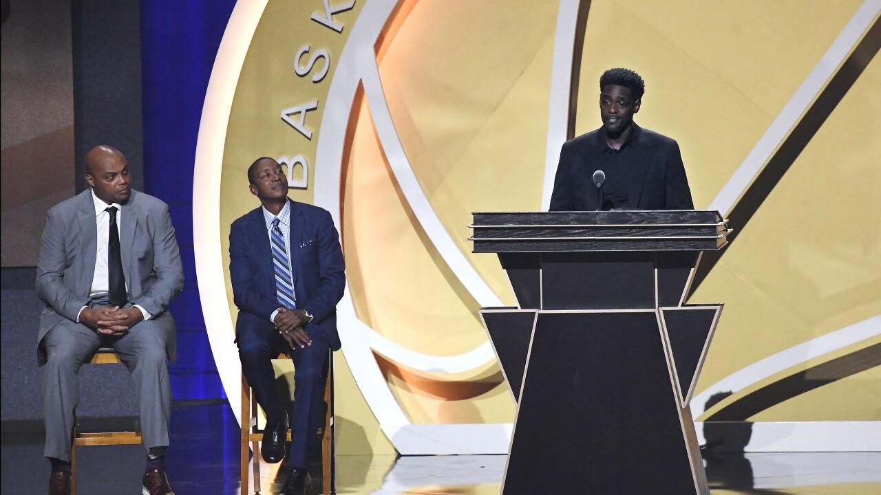 Chris Webber, Charles Barkley, Isiah Thomas Basketball Hall of Fame