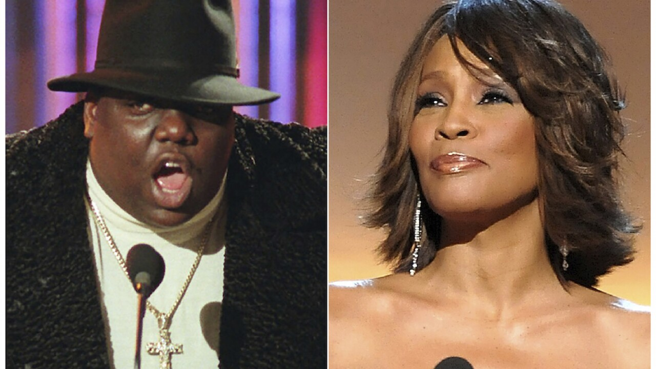 It was all a dream: Whitney, B.I.G. inducted into Rock Hall