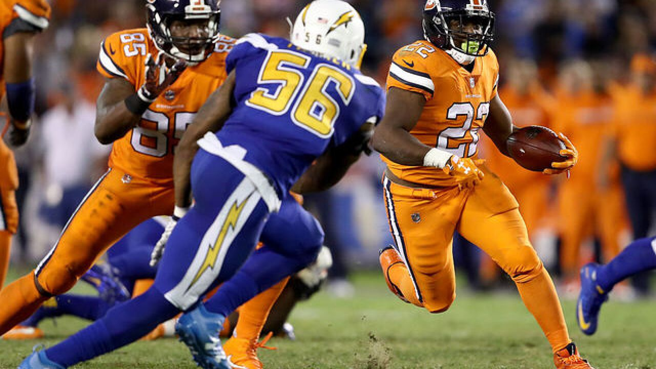 Broncos players offer mixed reactions to Thursday s color rush uniforms f64bb62bc