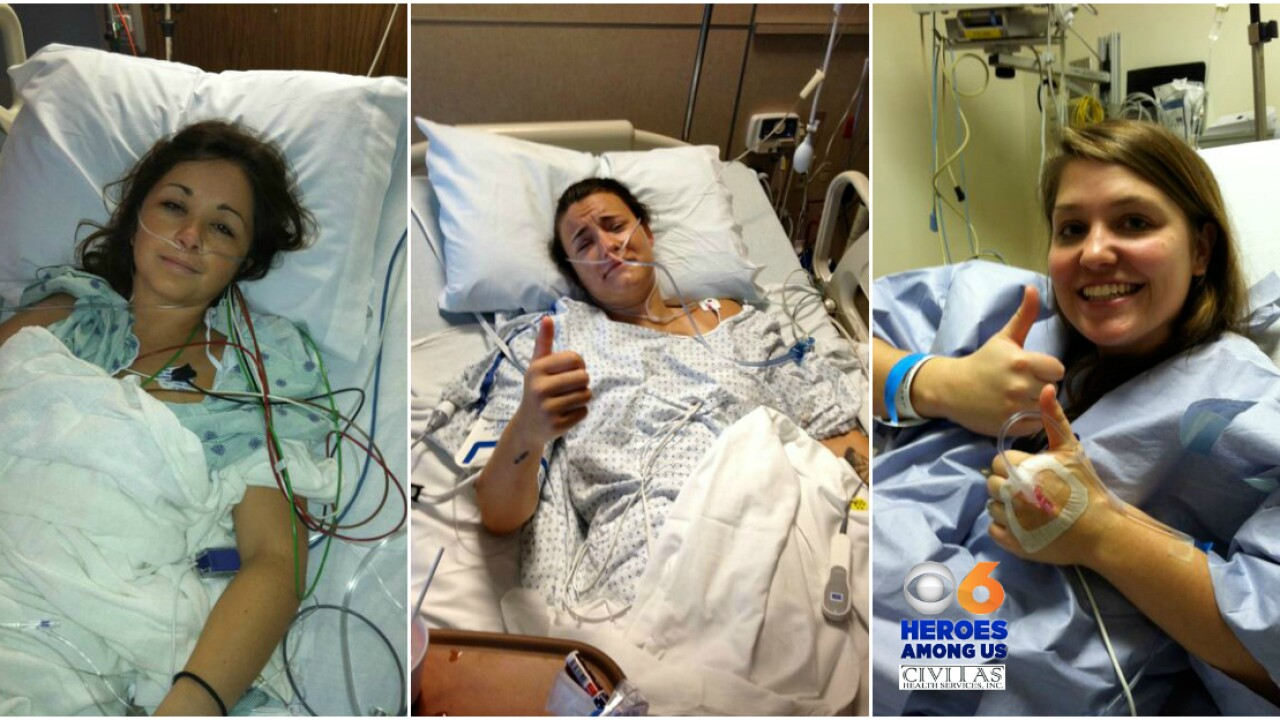 Longwood University classmates decide to donate organs to save lives ofothers