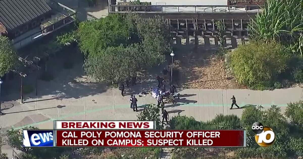 Parking officer killed on Cal Poly Pomona campus