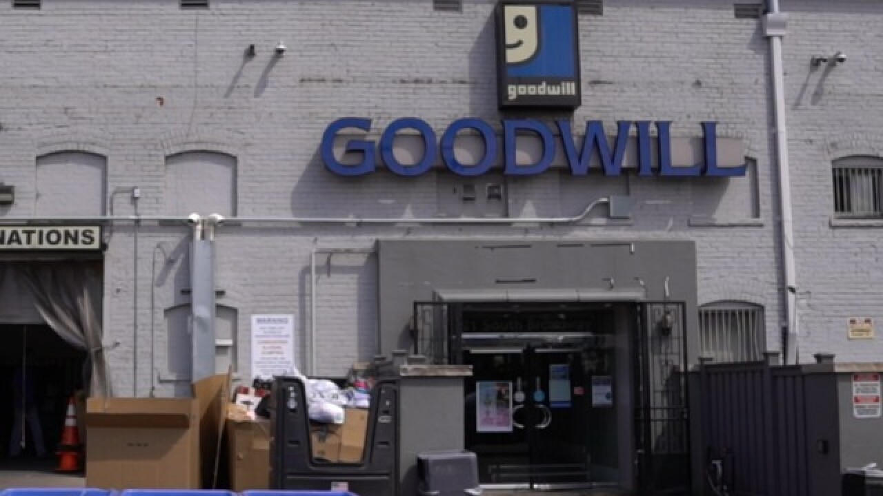 Your Goodwill donations could make you a target for thieves
