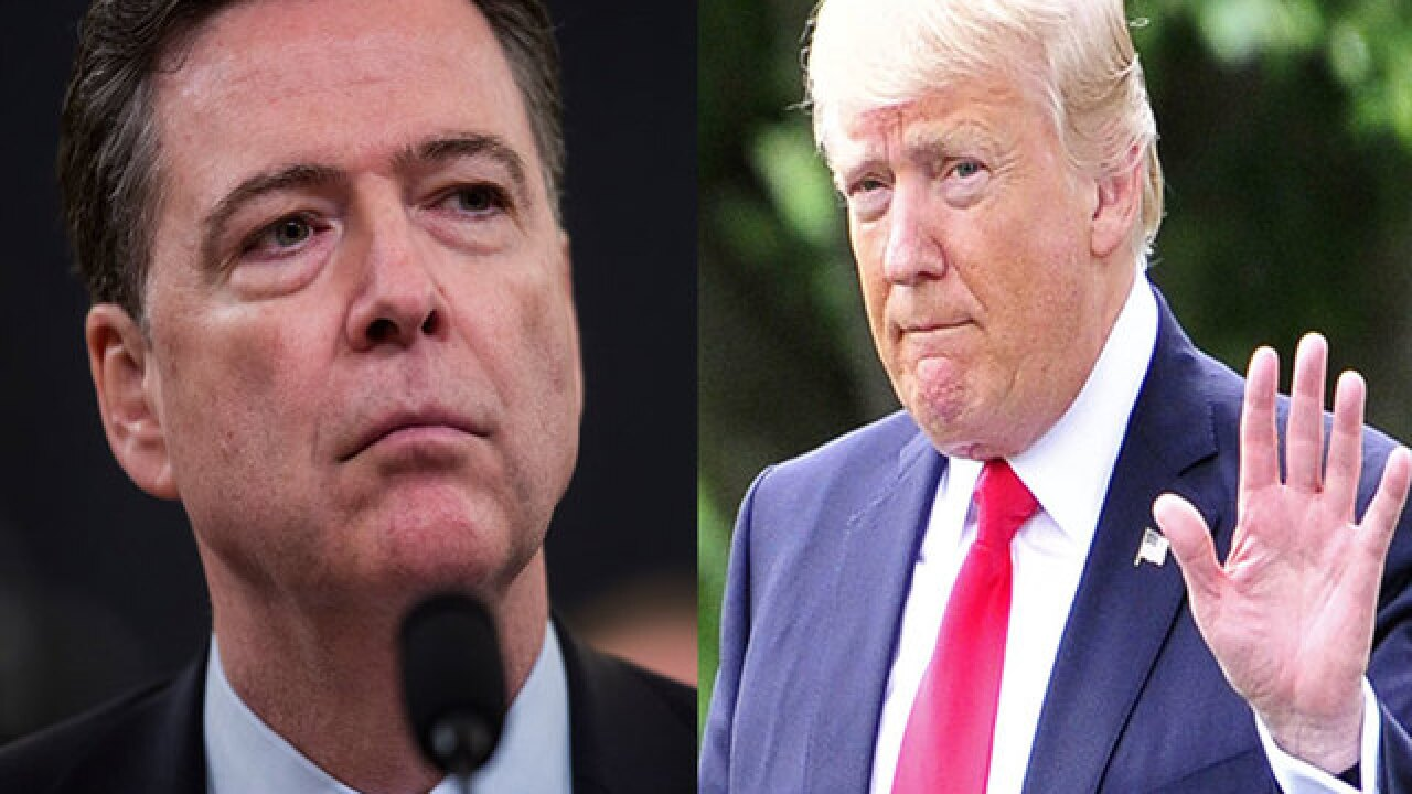 NYT: Trump brags to Russians about firing 'nut job' Comey