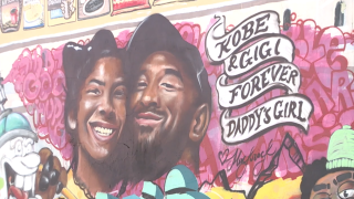 Murals honoring Kobe Bryant popping up throughout L.A.