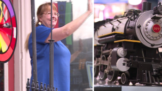 Long-time pharmacist switches tracks to pursue her passion for trains