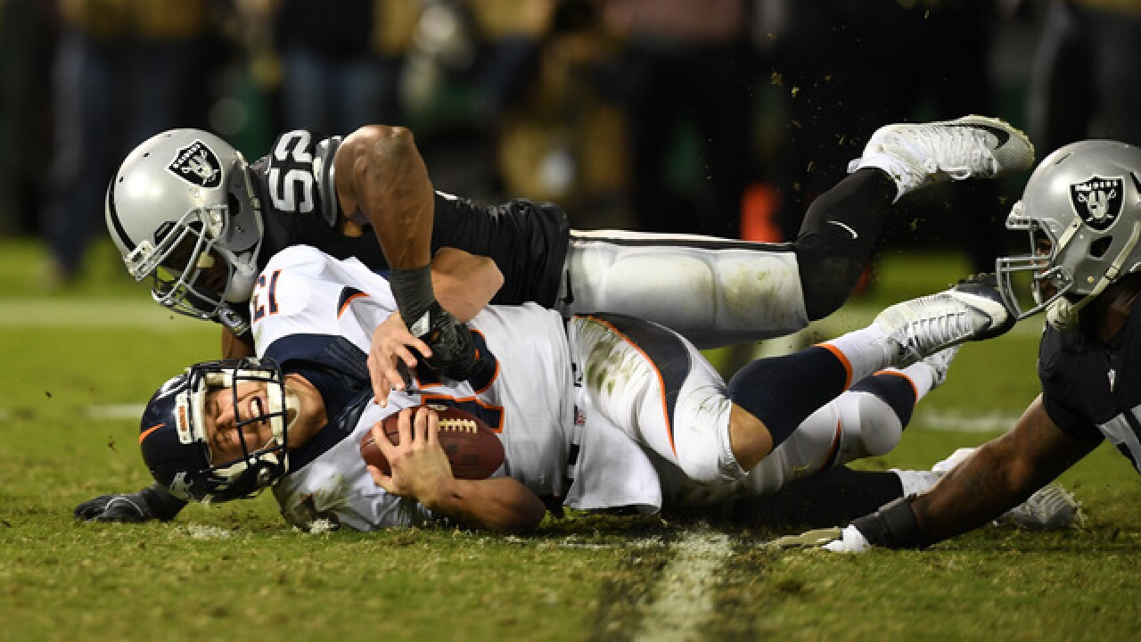 d581f85b Woody Paige: The Broncos rivalry is again alive with the Raiders ...