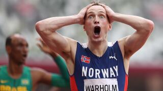 Warholm annihilates own WR in 45.94, wins 400mH showdown of ages