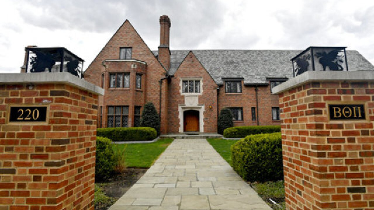 18 charged over Penn State fraternity death