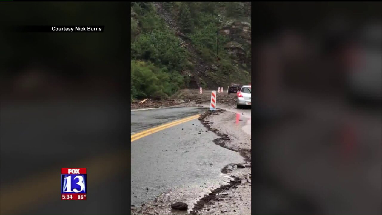 SR-143 closed near Panguitch due to severe flood damage