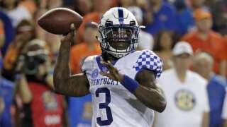 Kentucky Quarterback Wilson Unfazed by Turnover-Prone Start