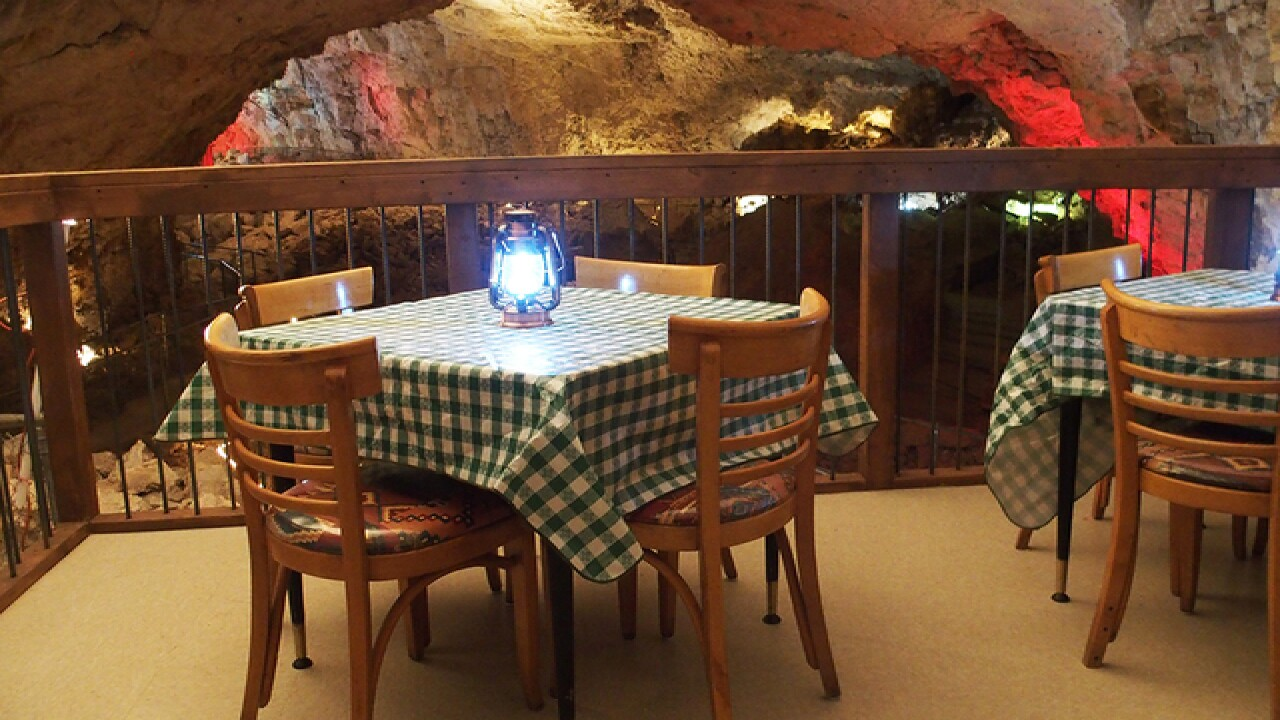 New AZ restaurant lets you dine inside a cave